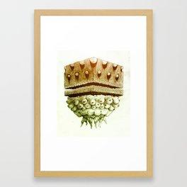 Cube of Boobs Framed Art Print