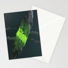 Gravitational Fracture Stationery Cards