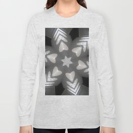 Hearts (from the arches in the Bom Jesus church complex in Old Goa) Long Sleeve T-shirt