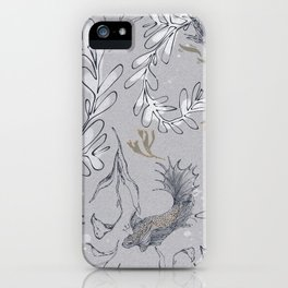 Goldfish, make a wish! iPhone Case