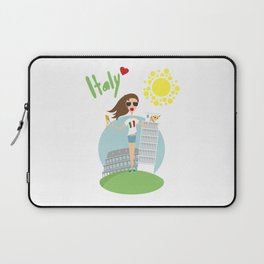 I love Italy Laptop Sleeve