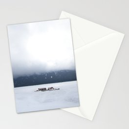 Lake Minnewanka Fog Stationery Cards