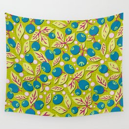 Blueberry Preserves Wall Tapestry