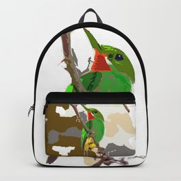 Looking for you Tody bird Backpack