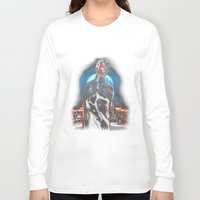 justice league Long Sleeve T-shirts featuring Superman - Justice Lord by Charles Logan