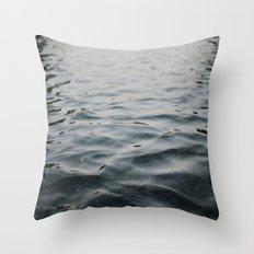 River Water Throw Pillow