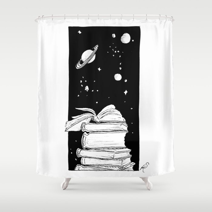 Enter A New Dimension Shower Curtain
