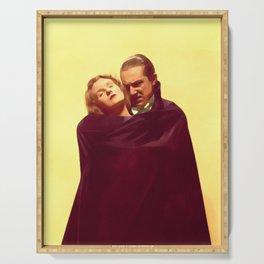 Bela Lugosi as Dracula Serving Tray