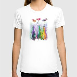 three bottles T-shirt