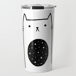 Galaxy Kitty Travel Mug