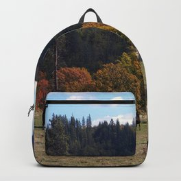 Life in the country.... Backpack