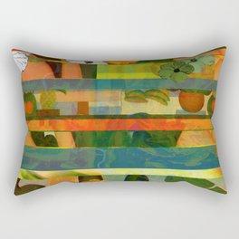 Brasilian stripes Rectangular Pillow