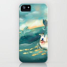 Adventures at Sea iPhone Case