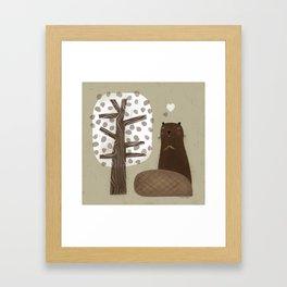 HAPPY MEAL Framed Art Print