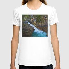 Beauty Creek & Stanley Waterfalls in Jasper National Park, Canada T-shirt