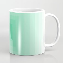 Mint Monochrome Coffee Mug