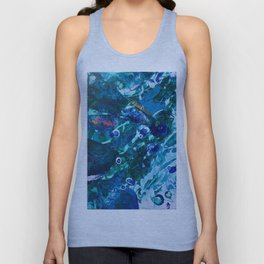 Look Into The Deep Unisex Tank Top