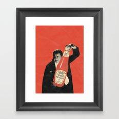 Vegetarian Vampire Framed Art Print