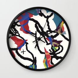 KAWS - Untitled , 2016 Wall Clock