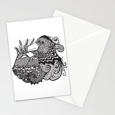 Conscious State Of Dreaming BW Stationery Cards