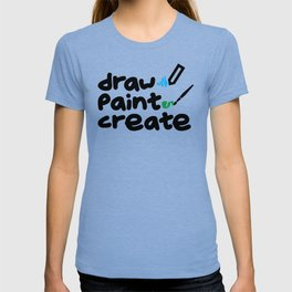 draw paint create T-shirt