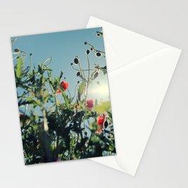 poppy flower no14 Stationery Cards