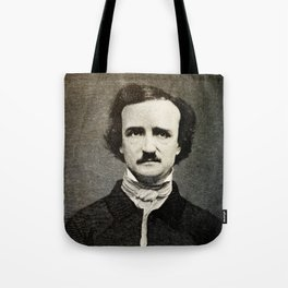 Edgar Allan Poe Engraving Tote Bag