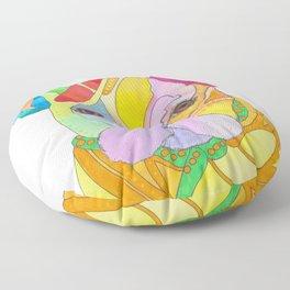 Princess Marmite - Pop Art French Bulldog - Frenchie Floor Pillow