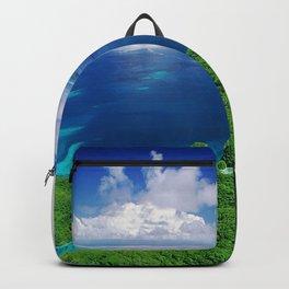 WOW!!! PALAU!! Tropical Island Hideaway Backpack