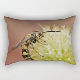 Dangerous florwers Rectangular Pillow