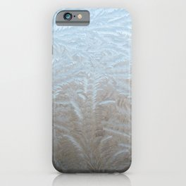 Copenhagen, Denmark | Nature Print | Ice Crystals | Winter Print iPhone Case