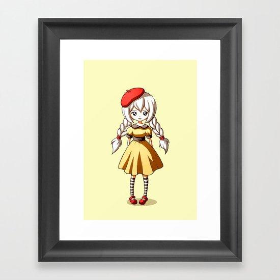 Baguette Framed Art Print