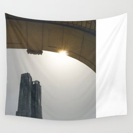 DownTown rainbow Wall Tapestry
