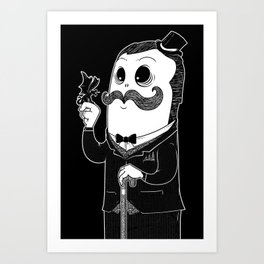 GentleMon Art Print