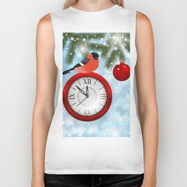 Christmas or New Year decoration Biker Tank
