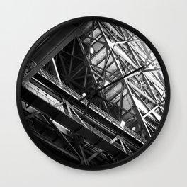the persistent dream of Pythagoras Wall Clock