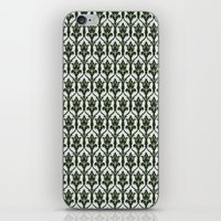 221b iPhone & iPod Skins featuring 221b Wallpaper by rogueleader