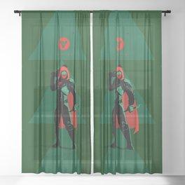028 Hunter D2 Sheer Curtain