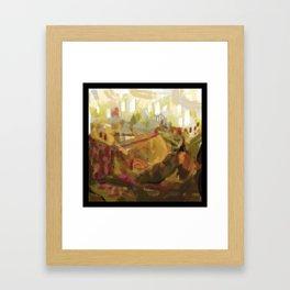 Abstract landscape 7 Framed Art Print