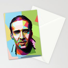 nicholas cage Stationery Cards