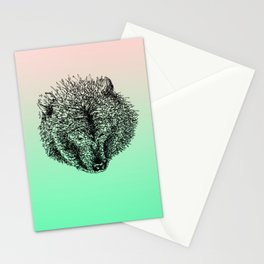 Lonely Bear Stationery Cards