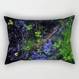 Floor of Sifton Bog Rectangular Pillow