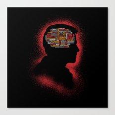 Castiel's Phrenology Canvas Print