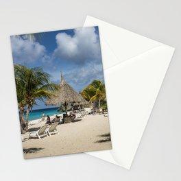 Curacao - Caribbean Island Beach Scene Stationery Cards