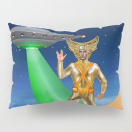 Ancient Vulcan Space Alien Pillow Sham