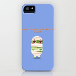 Don't get wrapped up on what's on the outside iPhone Case