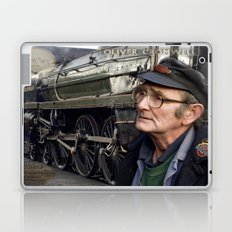 Old Steam Train Montage Laptop & iPad Skin
