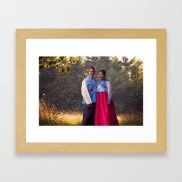Oliver and Soye - Korean  Framed Art Print