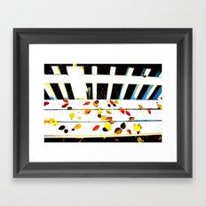 Seat's Taken Framed Art Print