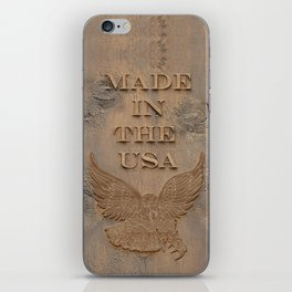 Made In The USA iPhone Skin